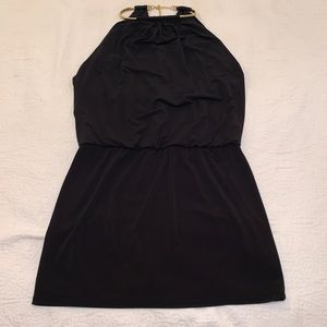Jessica Simpson black going out dress, lbd